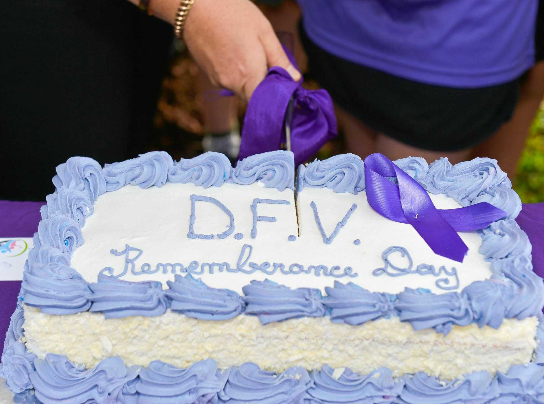 Domestic violence Rememberance Day at Friend Park, Barney Pt.