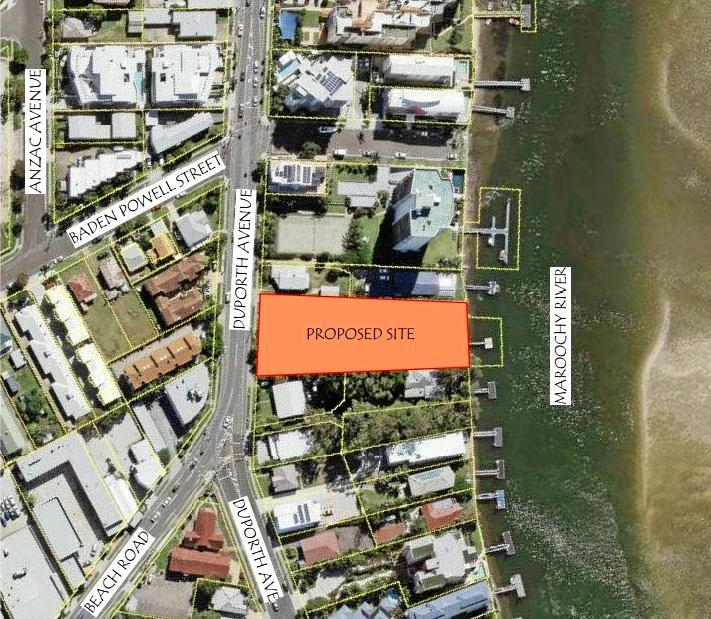 The Botanica development will offer 16 apartments with Maroochy River frontage at Maroochydore.