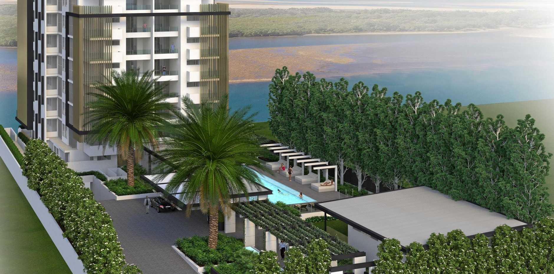 LUXURY: The Botanica development will offer 16 apartments with Maroochy River frontage.
