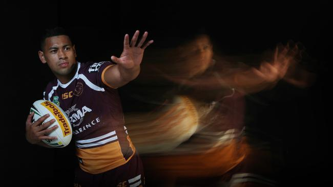 Jamayne Isaako has been a revelation for the Broncos in 2018. Pic Peter Wallis