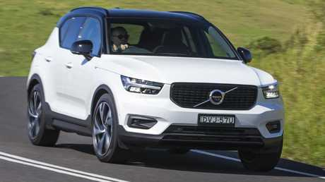 The Volvo XC40 corners with precision on low profile tyres, and yet it's also surprisingly comfortable over bumps. Picture: Supplied.