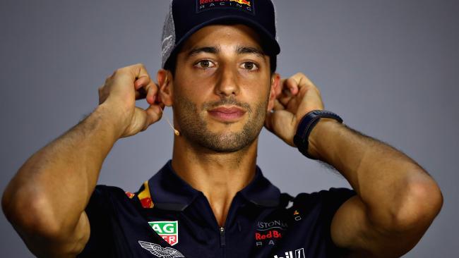 Daniel Ricciardo has some deep pockets. Picture: Getty Images