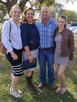 "Northern Territory teen Amy ""Dolly"" Everett (far right) is pictured with her family. She later took her own life, aged just 14, after years of relentless bullying."
