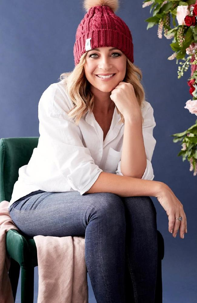 Carrie Bickmore's Beanies for Brain Cancer has so far raised $2.1 million.