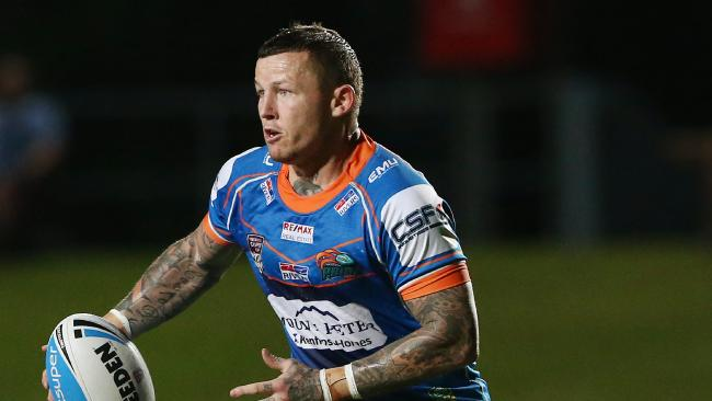 Action from the Intrust Super Cup Queensland Rugby League match between the Northern Pride and the Sunshine Coast Falcons. Pride's Todd Carney. PICTURE: BRENDAN RADKE