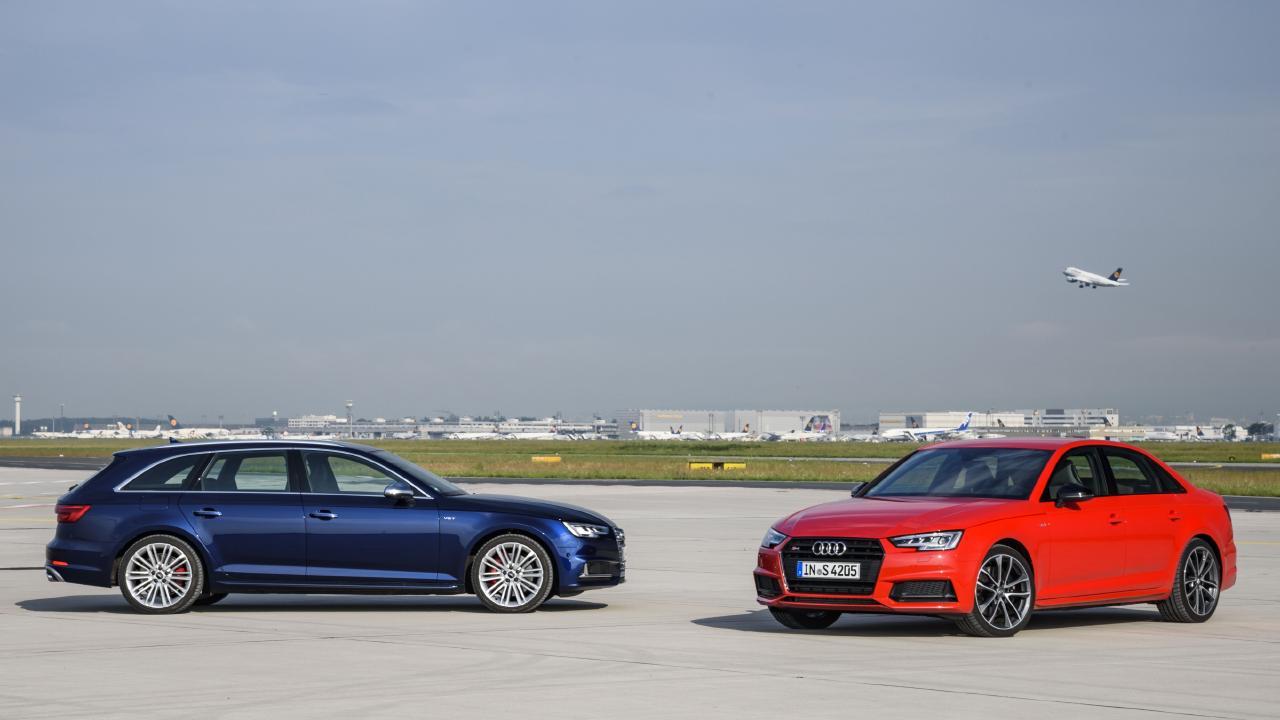 2016 Audi S4 sedan and wagon.