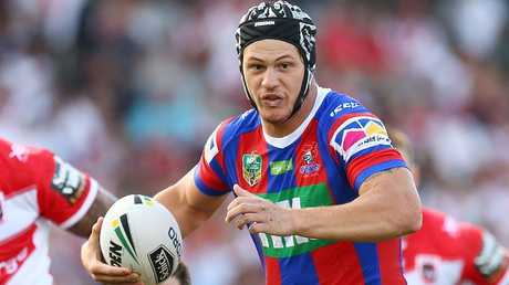 Kalyn Ponga has lived up the incredible hype in his first eight games for the Knights in 2018. Photo: Mark Nolan