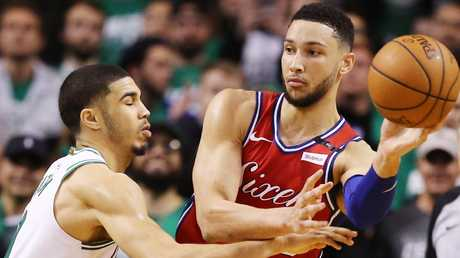 Mitchell defends Simmons: Every player has that night
