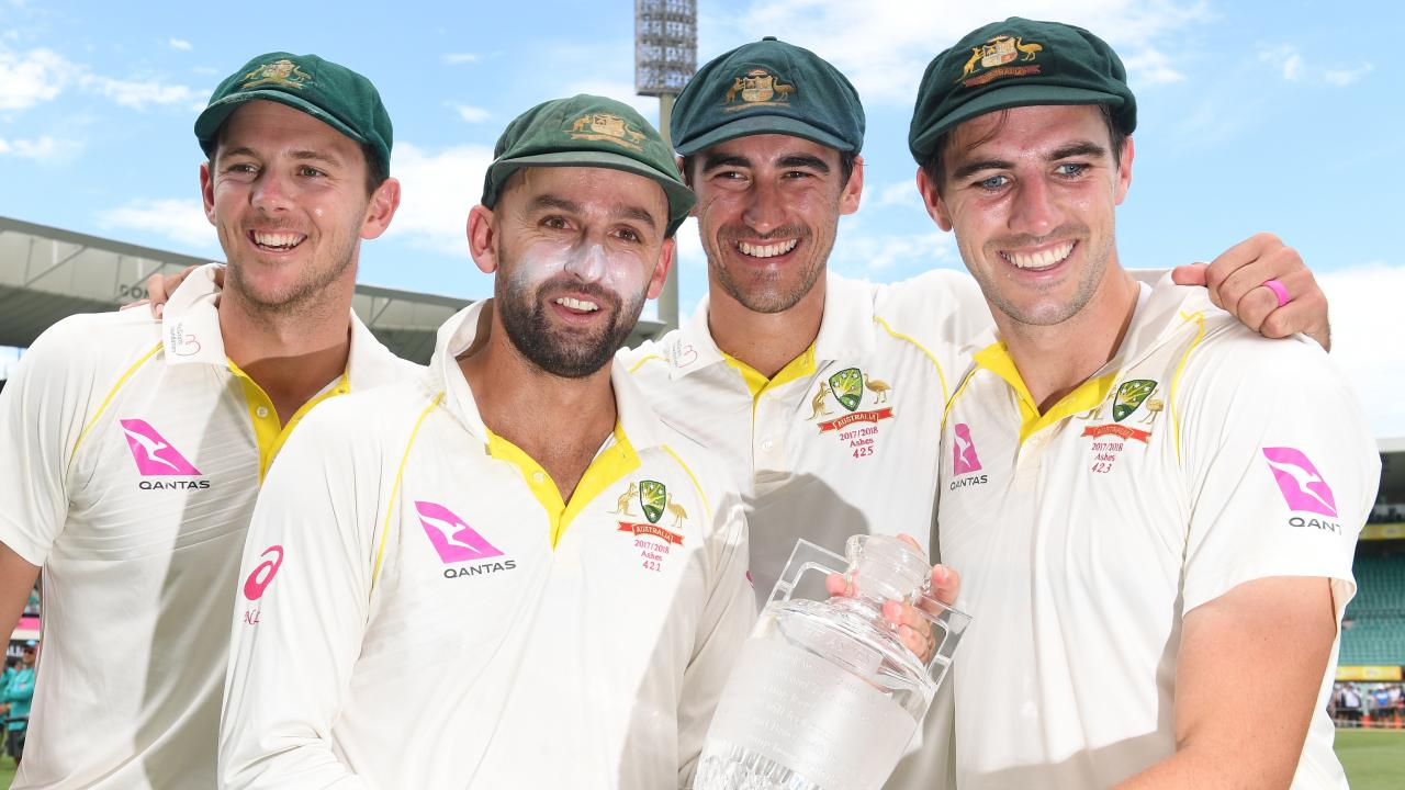 The 2019 Ashes will be the first in the Test Championship. Picture: Dean Lewins/AAP