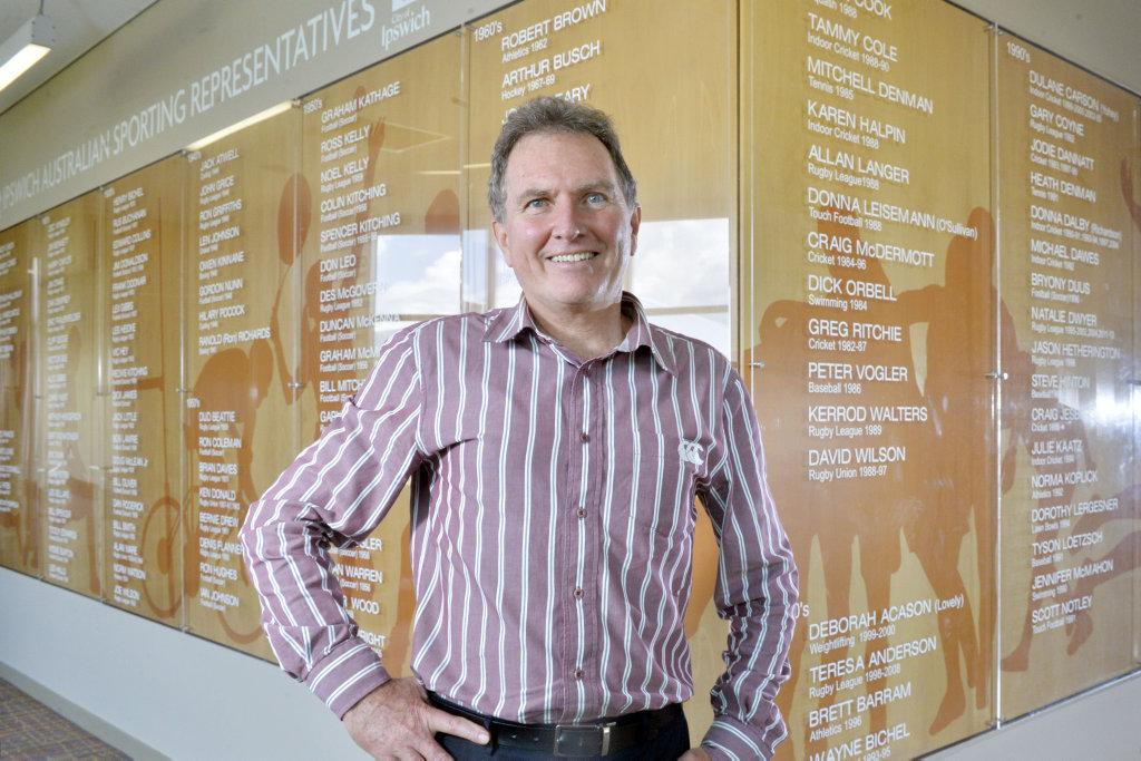 Cr David Morrison.