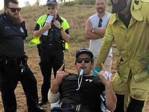 Skylark ends in broken leg, job loss, fines