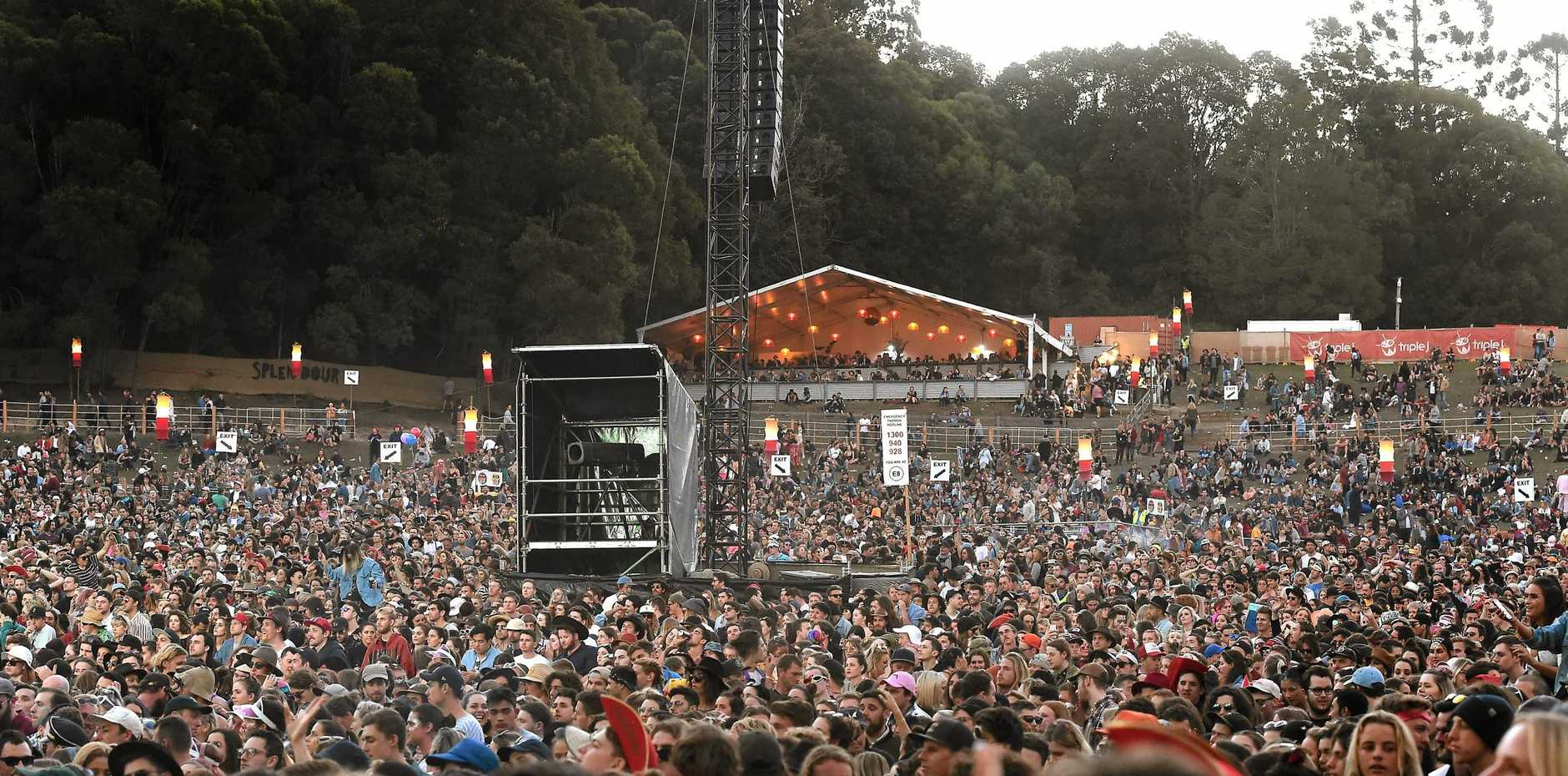 TESTING: The testing of drugs at the Groovin the Moo festival revealed some interesting results.