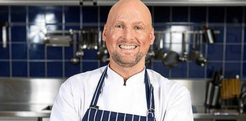 DINNER IS SERVED: Celebrity chef Matt Golinski will headline the St Lawrence Wetlands Weekend in June.