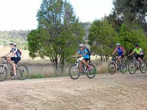 Riders tackle the Brisbane Valley Rail Trail experience