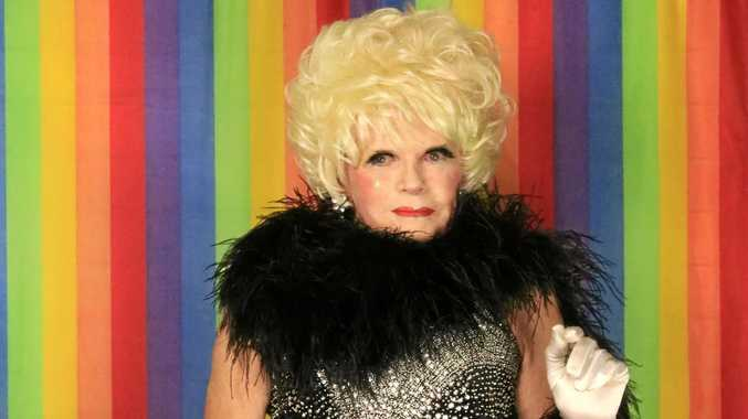 KINGS AND QUEENS: Stan Munro, female impersonator and comedian from Kyogle.