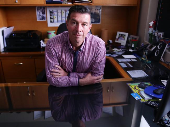 Ipswich City Council Mayor Andrew Antoniolli has been charged by the CCC with seven counts of fraud, making him Ipswich's second successive mayor to face criminal allegations within a year. Picture: AAP Image/Claudia Baxter
