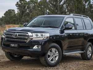 Toyota LandCruiser wins unwanted stolen car honour