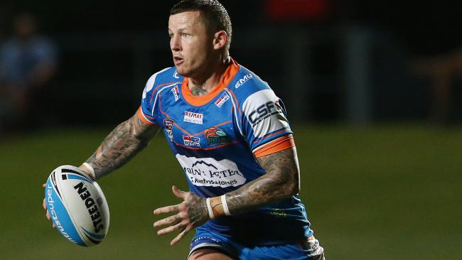 Todd Carney in action for the Northern Pride. Picture: Brendan Radke