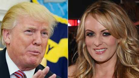 President Donald Trump allegedly repaid $130k to his lawyer Michael Cohen for adult film actress Stormy Daniels. Picture: AFP/ Getty Images.