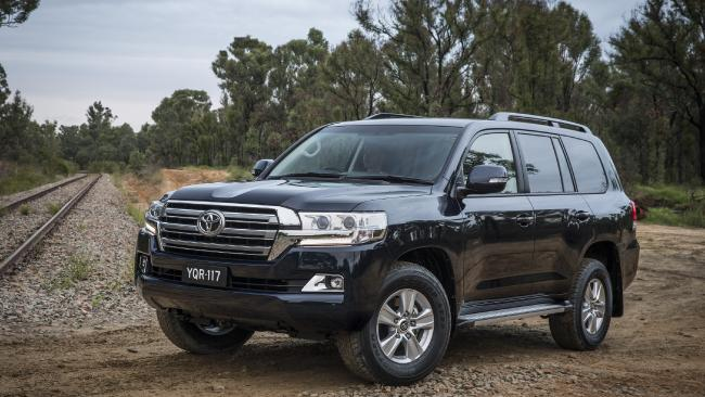 Toyota Landcruisers, Ford Falcons and Toyota Corollas were the most commonly stolen cars in the past three years.