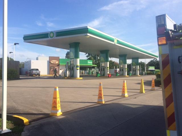 Petrol station shut down, cordoned off as gas leak confirmed