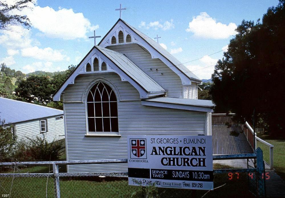 St George's Anglican Church in Eumundi.