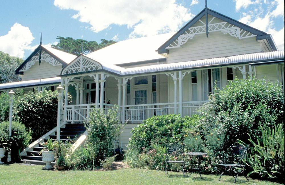 St Isidore's in Maleny, previously known as Mapleton Homestead or Seaview House.