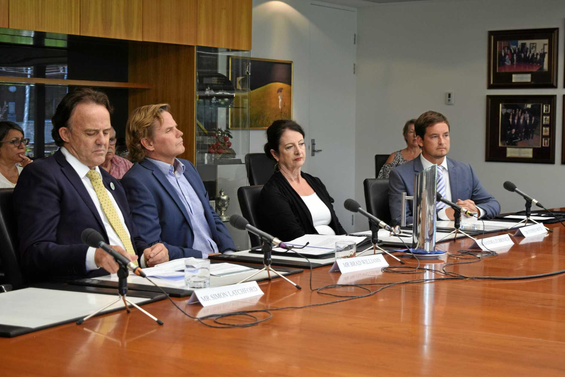 Simon Latchford, Brad Williams, Sandra, Zubrinich and Dr Steven Boyd.