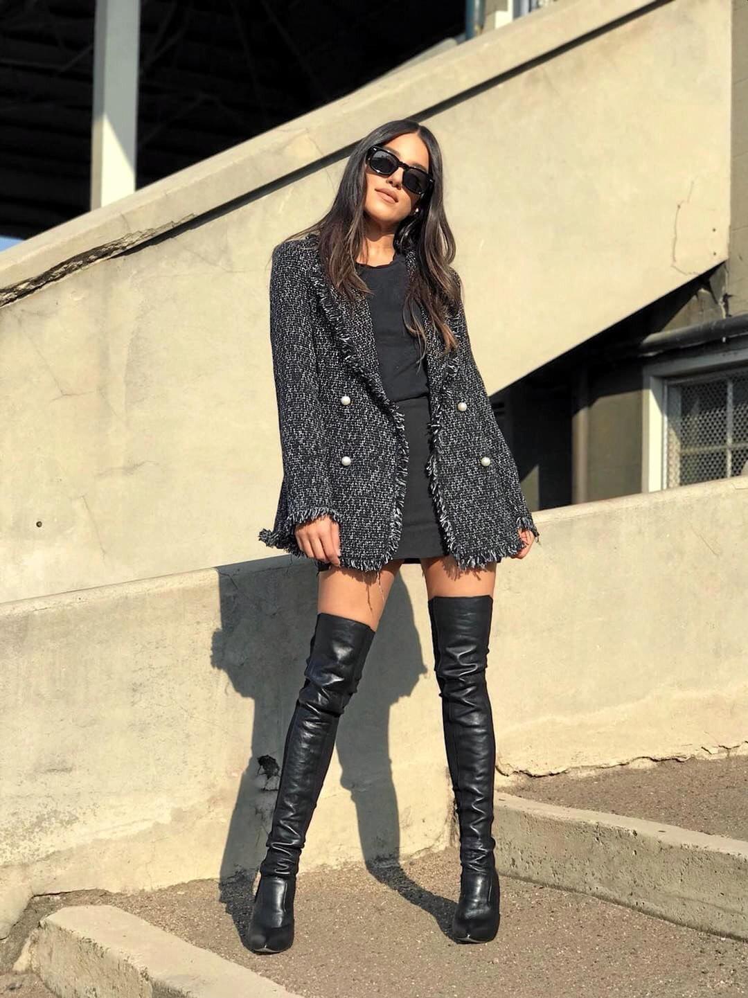 Tony Bianco Dahlia black Como boots, $299.95, tonybianco.com.au