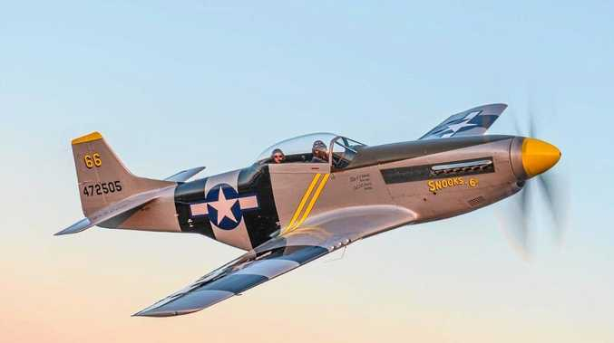 ALWAYS SOMETHING NEW: The David Hack Classic will this year feature a Mustang P51-D conducing paid joy flights among about 30 aircraft and 300 classic cars, bikes and other vehicles. MUSTANG PHOTO: MARK GREENMANTLE PHOTOGRAPHY