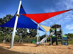 No BBQ but lots more grass at new Gympie playground