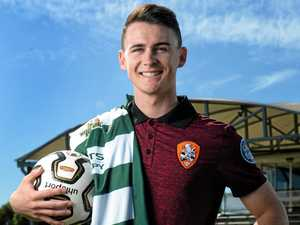 Why A-League recruit keeping grounded