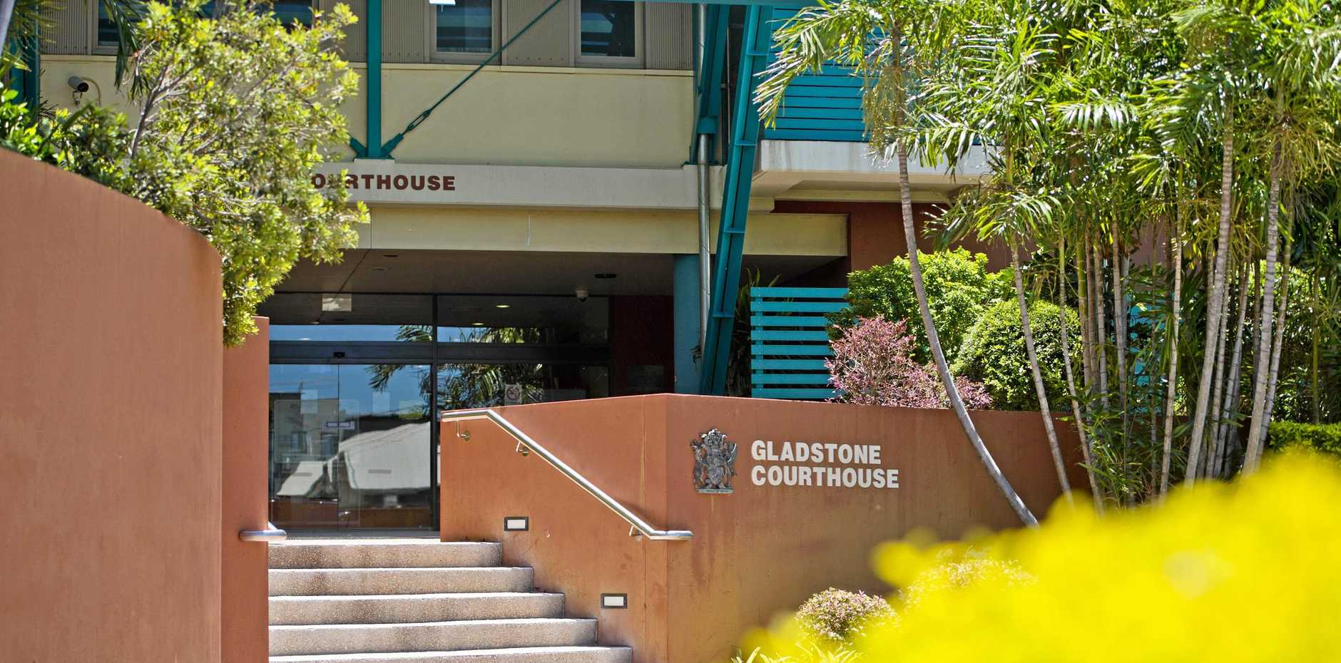 SENTENCING: Gladstone Court House is not usually considered a romantic location.