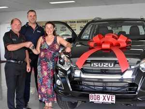 Southern Downs 'bush battler' wins new set of wheels