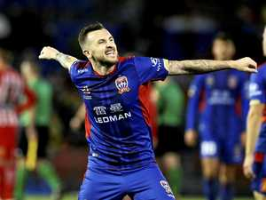 Seasoned Newcastle Jets pro knows the recipe for success