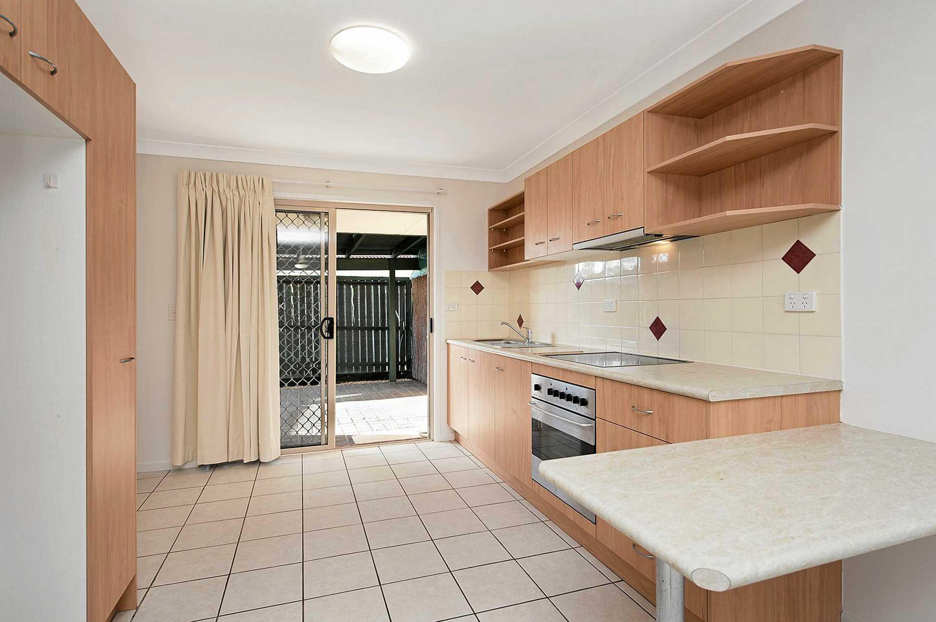 THIRD OPTION: A villa kitchen at Carseldine Gardens.
