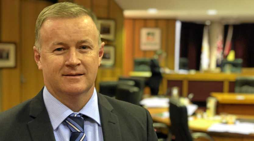 Ipswich City Council's new chief executive officer Sean Madigan.