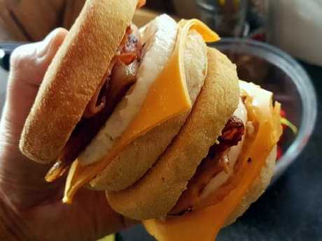 Some people have been able to nail replica McMuffins. Source:Facebook