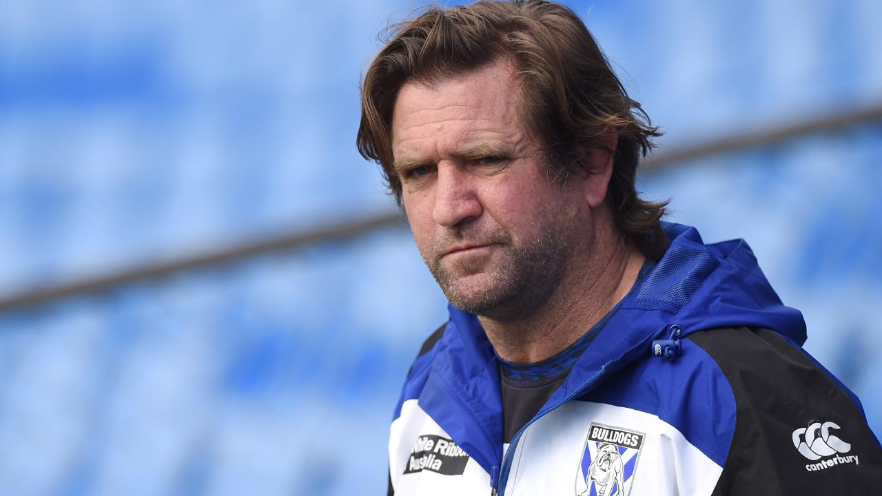 Former Bulldogs coach Des Hasler has reached a settlement with the club. Picture: Paul Miller/AAP