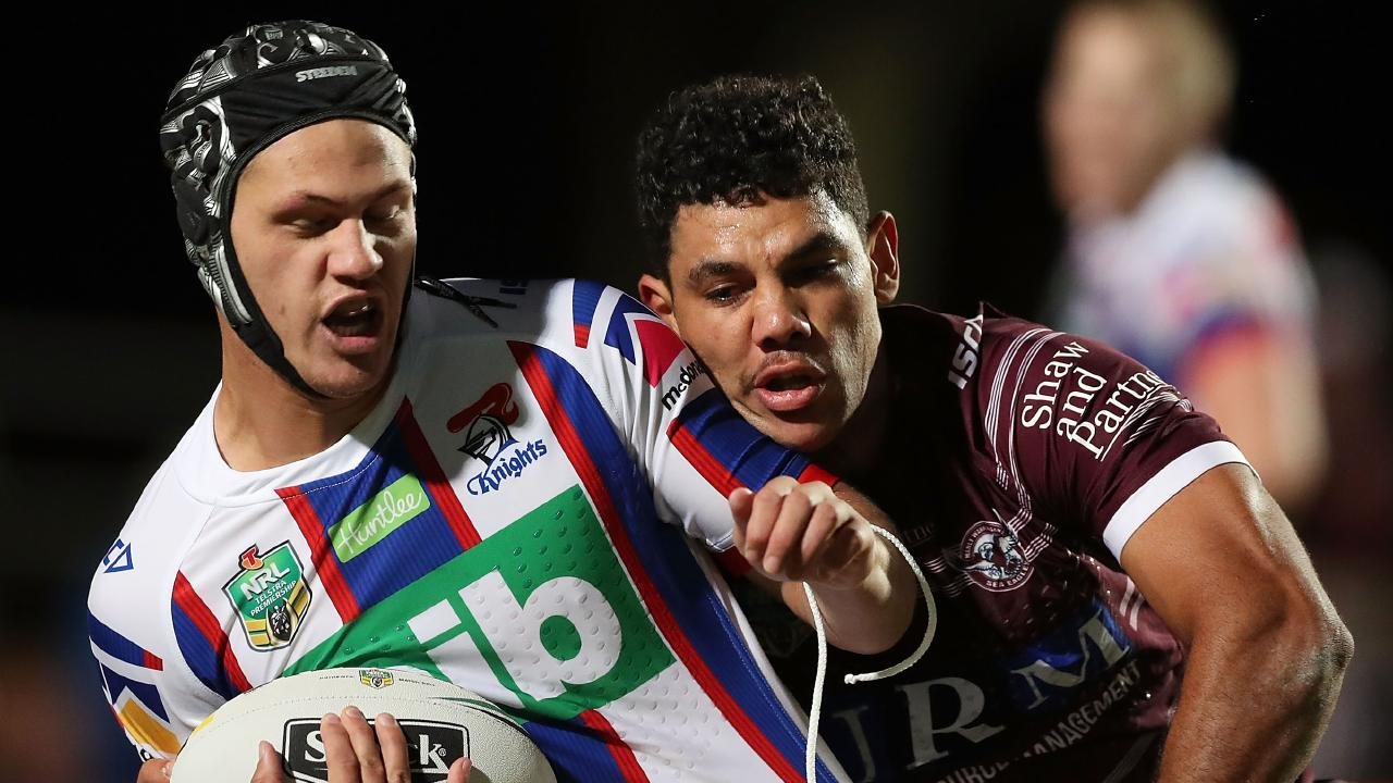 Kalyn Ponga has been in devastating form for the Knights. Picture: AAP