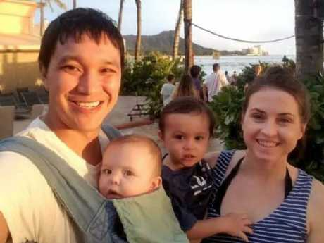 Lauren Lew's baby Josh was killed in the crash that killed Ruthie Ann Miles' child. Picture: GoFundMe