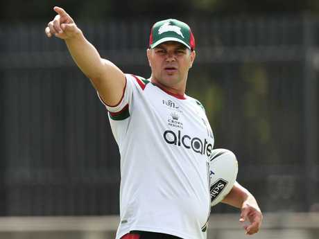 Anthony Seibold has turned the Rabbitohs around. Picture: Brett Costello