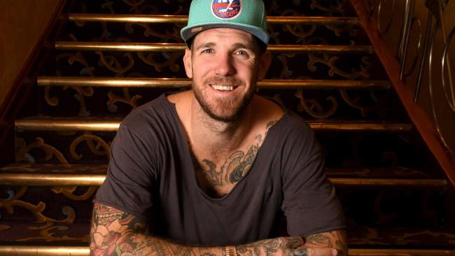 Dane Swan has made a complaint to police. Picture: Tricia Watkinson