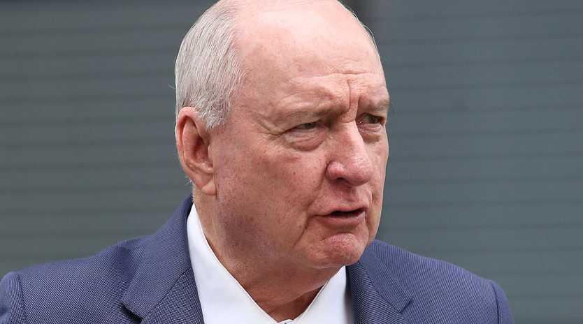 Radio host Alan Jones at the Supreme Court in Brisbane this week. Picture: Jono Searle/AAP