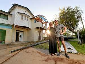 Beauty and the builder: Mackay pair transform run-down home