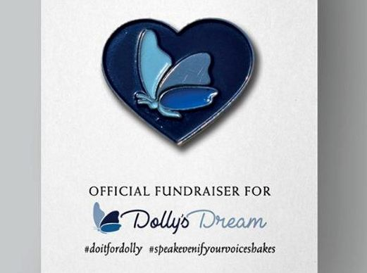 Akubra launched a pin this week to fundraise for the Dolly's Dream Foundation.