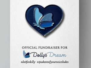 Akubra launches butterfly pins in support of Dolly's Dream