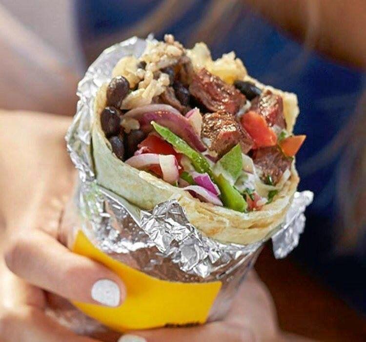 MEXICAN: A burrito from Guzman y Gomez