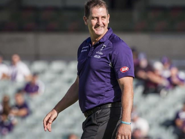 Ross Lyon says his team remains focused on football.