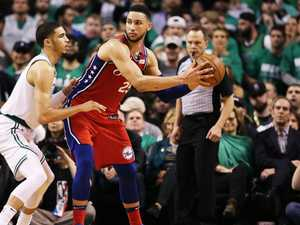 NBA legend's advice for Simmons after playoff shocker